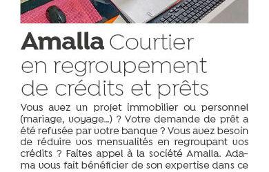 Amalla, courtier en regroupement de crédits et prêts