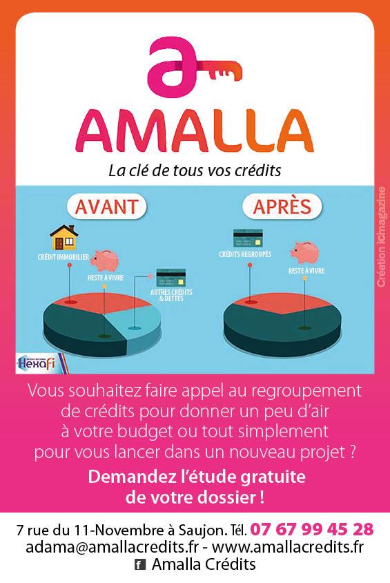 Amalla, la clé de tous vos crédits