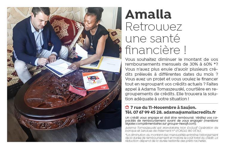 Retrouvez une sante financiere avec Amalla Crédits